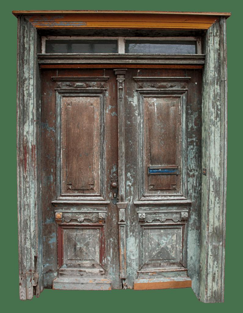 Одна дверь для входа и выхода