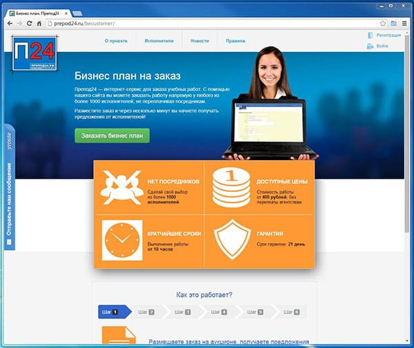 Биржа студенческих работ Prepod24.ru